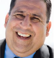 Man laughing smiling for camera